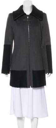 Laundry by Shelli Segal Wool-Blend Short Coat w/ Tags