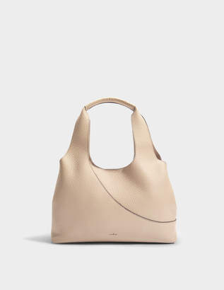 Hogan Horizontal Tote Bag in Multicolour Grained Leather