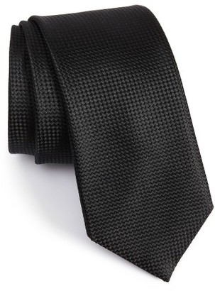 Men's Boss Solid Silk Tie $95 thestylecure.com