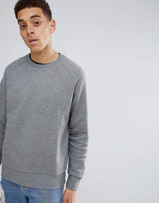 Weekday Paris sweatshirt in gray