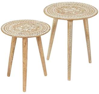 Amalfi by Rangoni Side Tables Adeline Side Table (Set of 2)