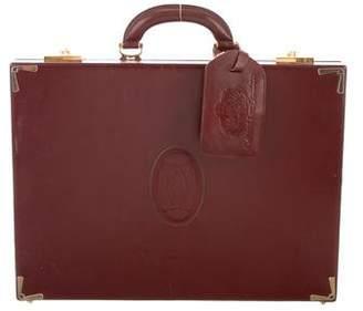 Cartier Vintage Must de Briefcase