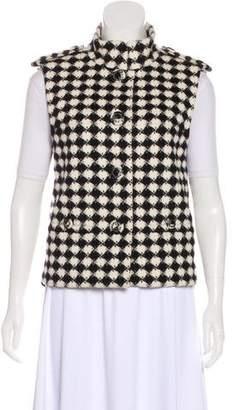 Chanel Paris-Londres Wool Vest