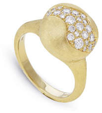 Marco Bicego 18k Gold Africa Small Diamond Constellation Ring