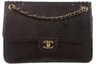Chanel Paris-Edinburgh Whipstitch Flap Bag