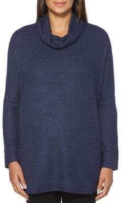 Rafaella Cowlneck Tunic Sweater