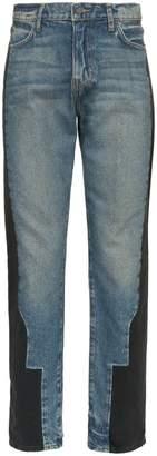 424 Bi-colour slim-leg denim jeans