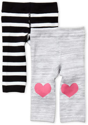Cuddl Duds Newborn/Infant) Two-Pack Knit Leggings