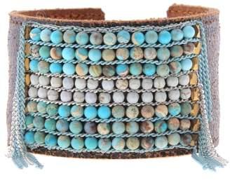 Nakamol Design Stone Cuff Bracelet