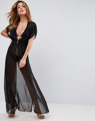 Asos Grecian Maxi Beach Cover Up