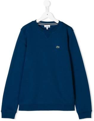 Lacoste Kids TEEN crew neck sweatshirt
