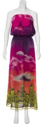 Calypso Silk Maxi Dress