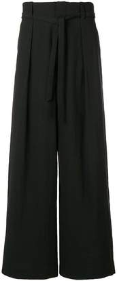 Ethosens pleated waist trousers