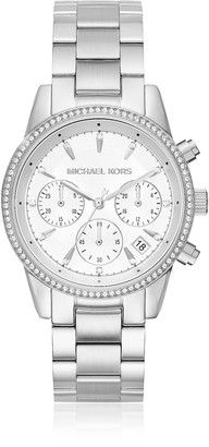 Michael Kors Ritz Silver Tone Women's Watch