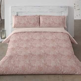 Camilla And Marc Burrito White fn2393 02 1502B Duvet Cover, Cotton, Pink, 37 x 30 x 7 cm