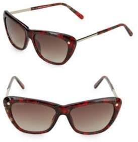 Balmain 56MM Square Sunglasses