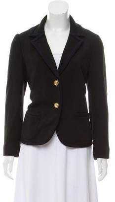 Tory Burch Wool Button-Up Blazer