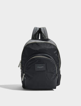 Marc Jacobs Double Pack Backpack in Black Nylon