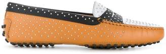Tod's Gommino studded loafers