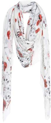 Alexander McQueen Square scarves - Item 46587865KK