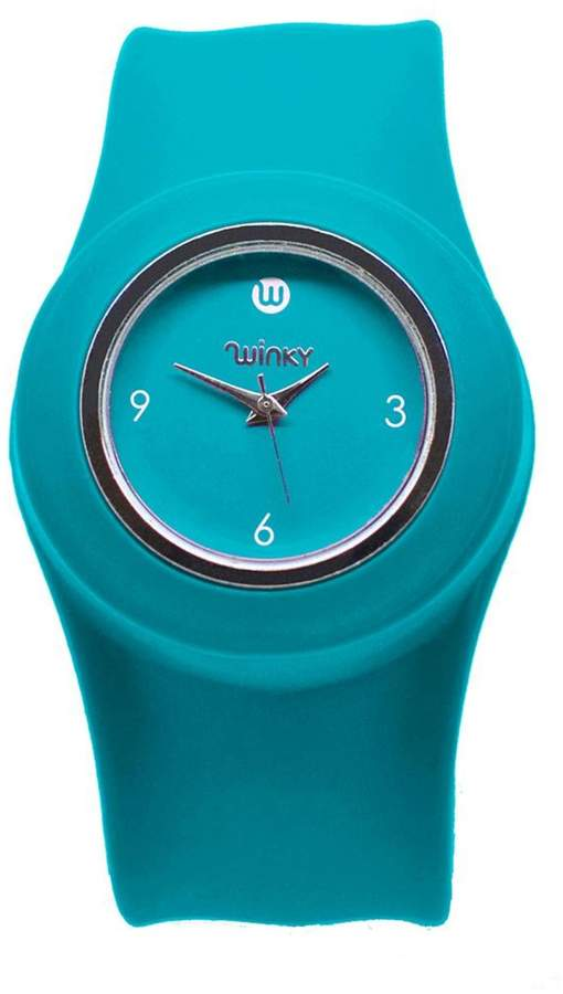 Winky Designs Turquoise Slap Watch