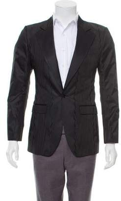 Dolce & Gabbana Jacquard Single-Button Blazer w/ Tags