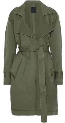 Marissa Webb Cotton-Blend Canvas Trench Coat