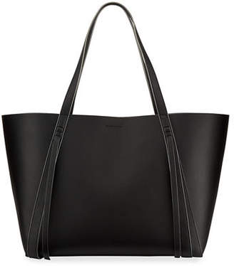 AllSaints Lea Stitched Leather Tote Bag