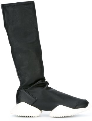 Adidas x Rick Owens 'Ro Runner' boots $1,435 thestylecure.com