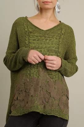 Umgee USA V-Neck Sweater