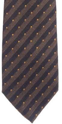 Luciano Barbera Silk & Cashmere Jacquard Tie