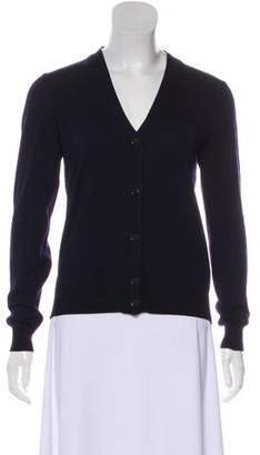 Jimmy Choo Wool Long Sleeve Cardigan