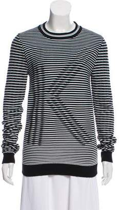 Kenzo Patterned Crew Neck Sweater