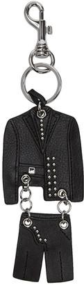 Versus Black Suit Keychain $110 thestylecure.com