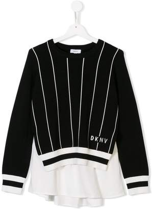 DKNY (ディー ケー エヌワイ) - Dkny Kids TEEN layered jumper
