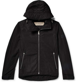 Burberry Shell Hooded Jacket - Men - Black