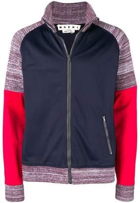 Marni sports knit jacket