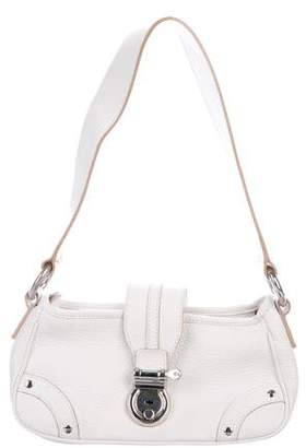 Burberry Grained Leather Shoulder Bag