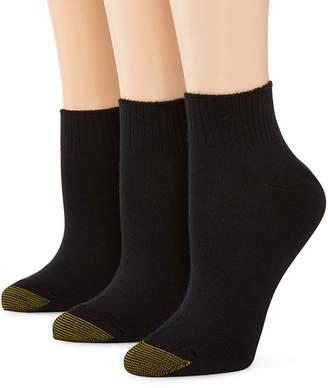 Gold Toe GoldToe 3-pk. Ultra Soft Quarter Socks