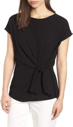 Gibson Tie Front Blouse
