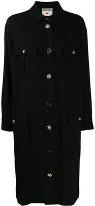 Moschino Pre-Owned midi shirt dress