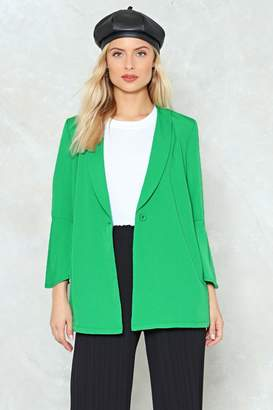Nasty Gal Own It Relaxed Blazer