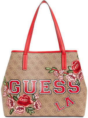 GUESS Vikky Signature Floral Tote