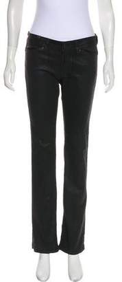 Notify Jeans Low-Rise Coated Pants