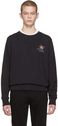 Saturdays NYC Black Bowery Paradise Sweatshirt