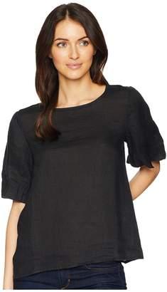 Allen Allen Short Sleeve Puff Tee Women's Short Sleeve Pullover