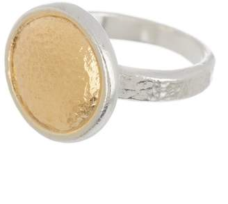 Gurhan Fine Jewelry Two-Tone Amulet Round Ring - Size 6