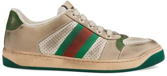 Gucci Women's Screener leather sneaker