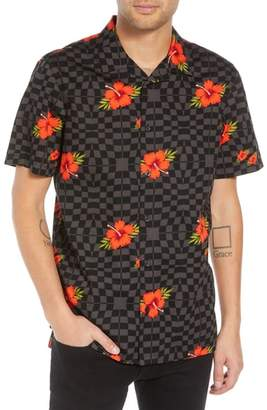 Vans Warp Tropic Checks Camp Shirt