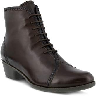 Spring Step Jaru Lace-Up Bootie